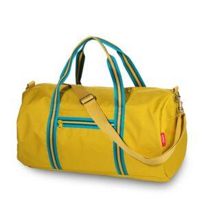 ENGEL Weekendbag Zipper 2.0 Mustard-0