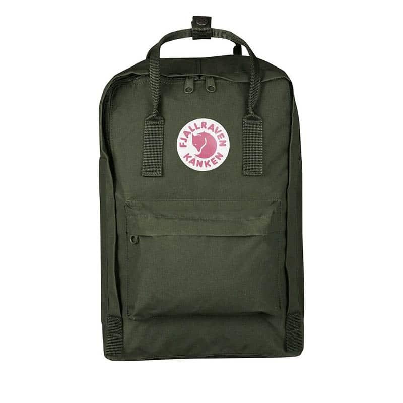 Fjällräven Kånken 15-inch Backpack Forest Green-0