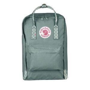 Fjällräven Kånken 15-inch Backpack Frost Green / Chess-0