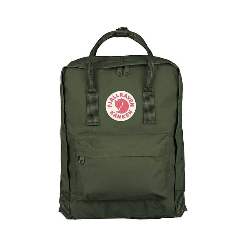 Fjällräven Kånken Backpack Forest Green-0