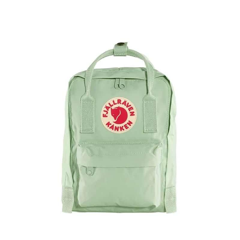 Fjällräven Kånken Mini Backpack Mint Green-0