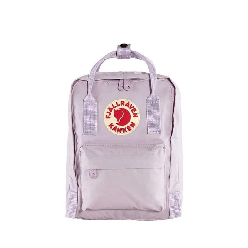 Fjällräven Kånken Mini Backpack Pastel Lavender-0