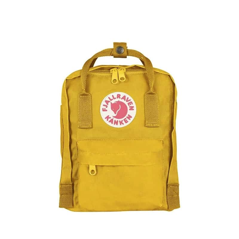 Fjällräven Kånken Mini Backpack Warm Yellow-0