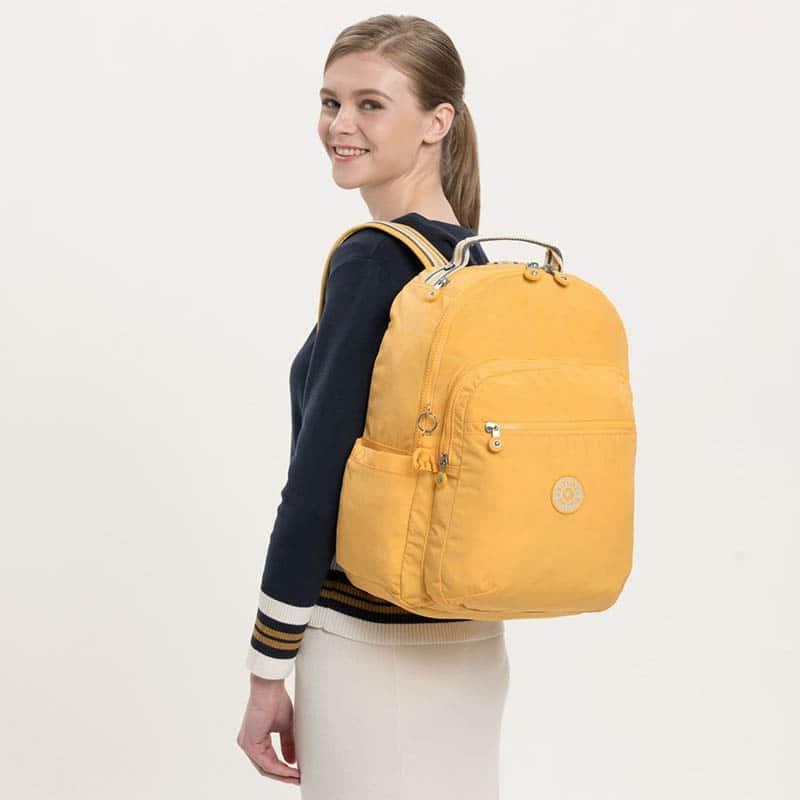 Kipling Seoul Medium Vivid Yellow-183372
