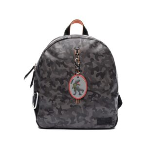 Zebra Trends Backpack Boys Army Grey-0