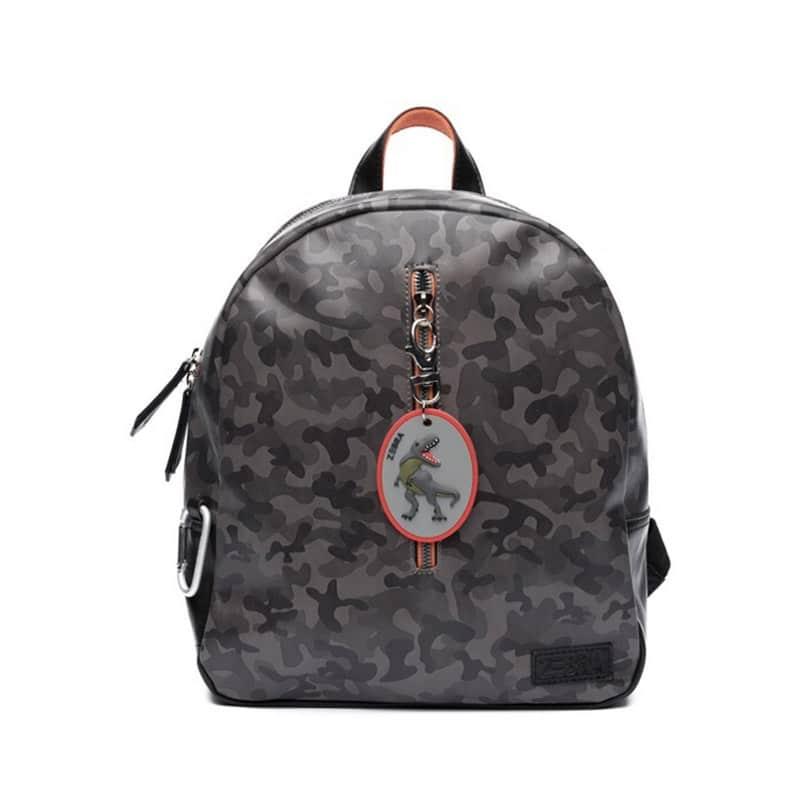 Zebra Trends Backpack Boys Army Grey-0