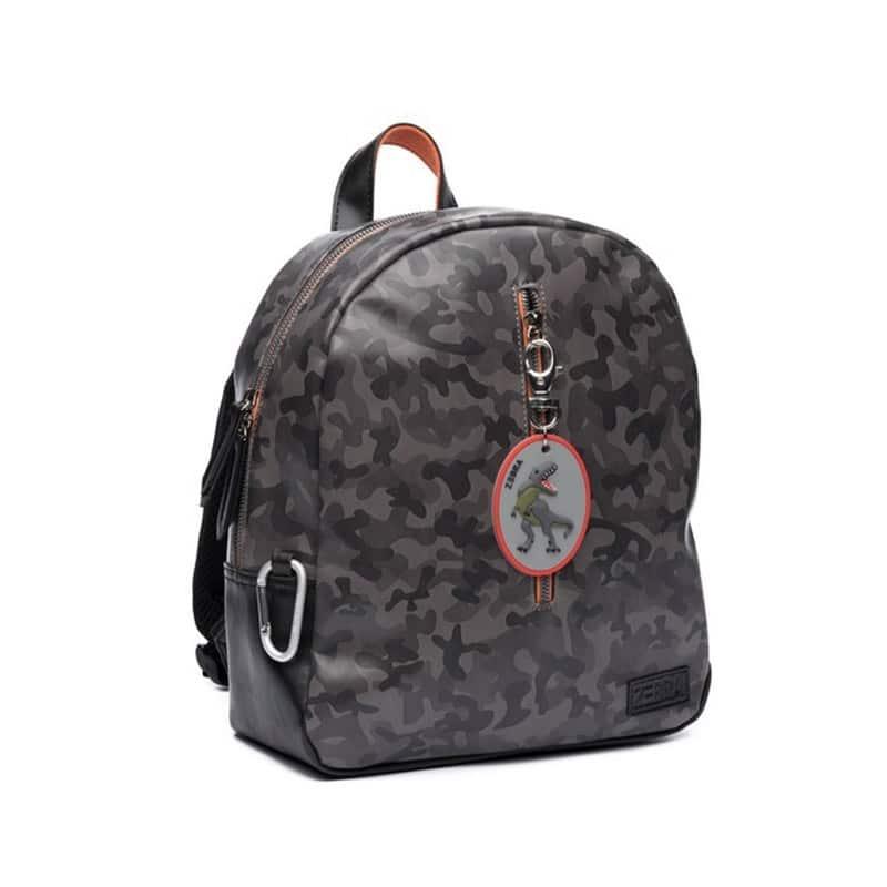Zebra Trends Backpack Boys Army Grey-183180