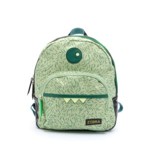 Zebra Trends Backpack Boys Monster Hairy Green-0