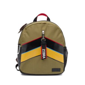 Zebra Trends Backpack Boys Stripes Army-0
