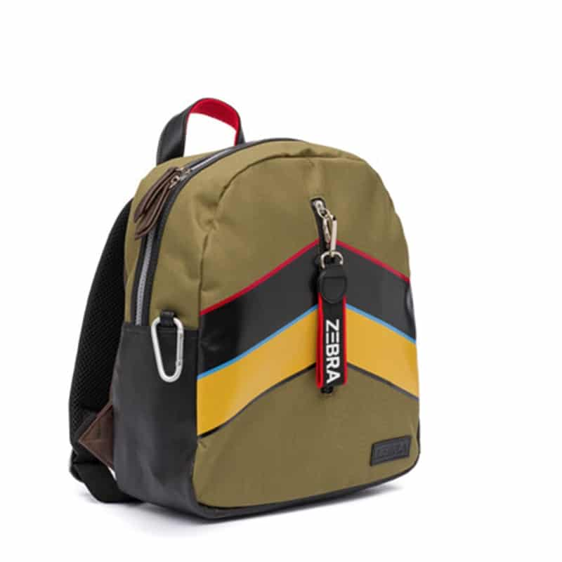 Zebra Trends Backpack Boys Stripes Army-183165