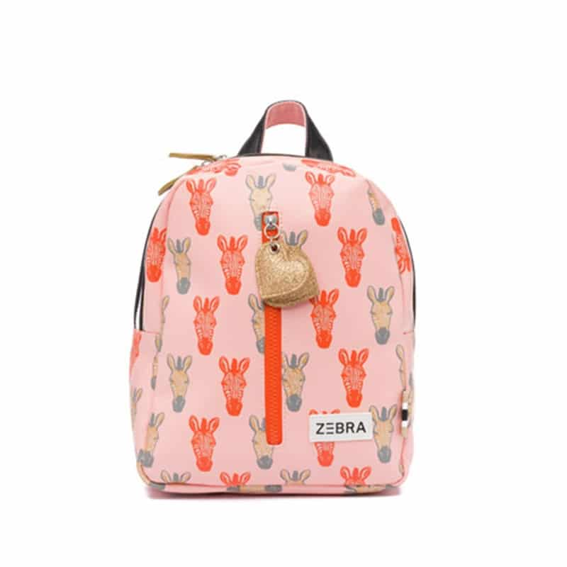 Zebra Trends Backpack S Zebra Peach Gold-0