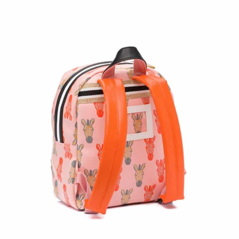 Zebra Trends Backpack S Zebra Peach Gold-183189