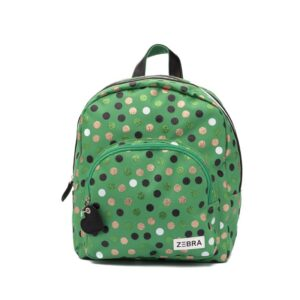 Zebra Trends Girls Backpack M Wild Dots-0