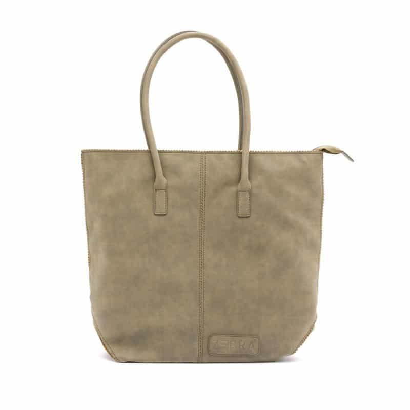 Zebra Trends Natural Bag Kartel Zip Armygreen-0