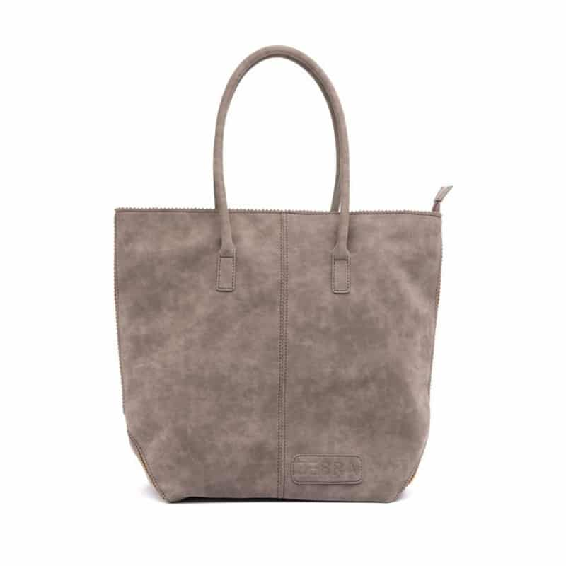 Zebra Trends Natural Bag Kartel Zip Dark Grey-0