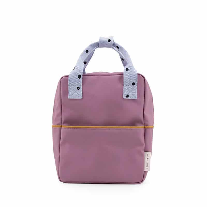Sticky Lemon Backpack Freckles   Purple/Blue/Caramel-0