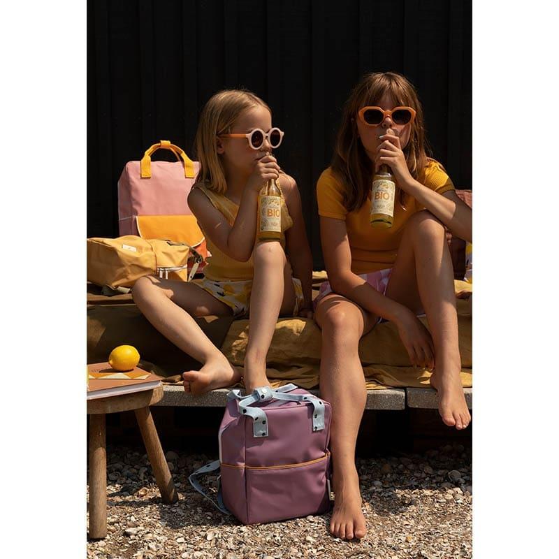 Sticky Lemon Backpack Freckles   Purple/Blue/Caramel-183633