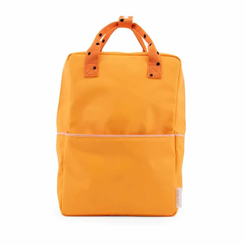 Sticky Lemon Backpack Large Freckles   Yellow/Orange/Pink-0