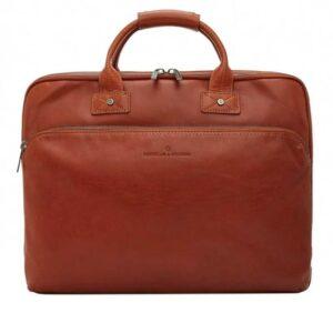 Castelijn & Beerens Firenze Laptopbag 17-inch Light Brown-0