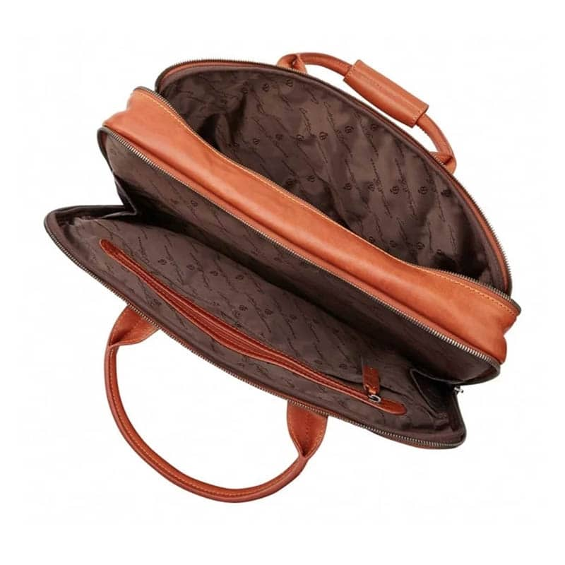 Castelijn & Beerens Firenze Laptopbag 17-inch Light Brown-183588