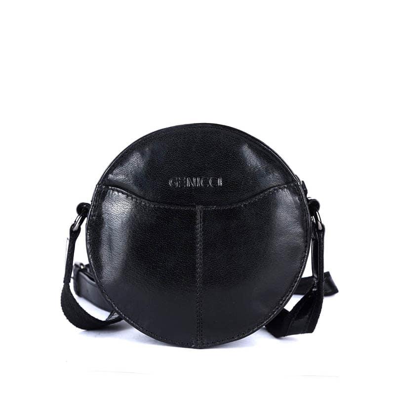 Genicci Carol Round Bag Black-0