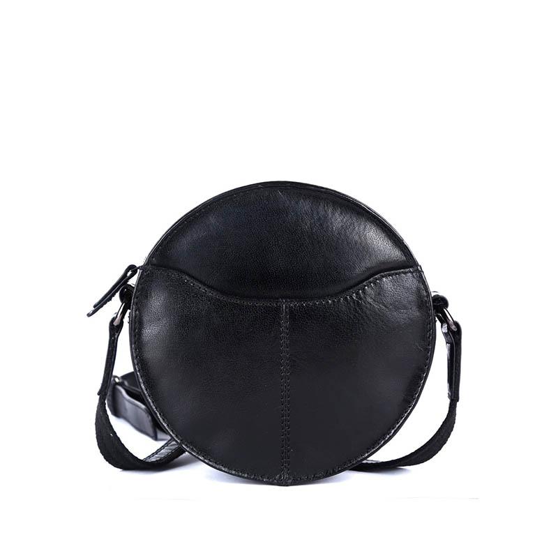 Genicci Carol Round Bag Black