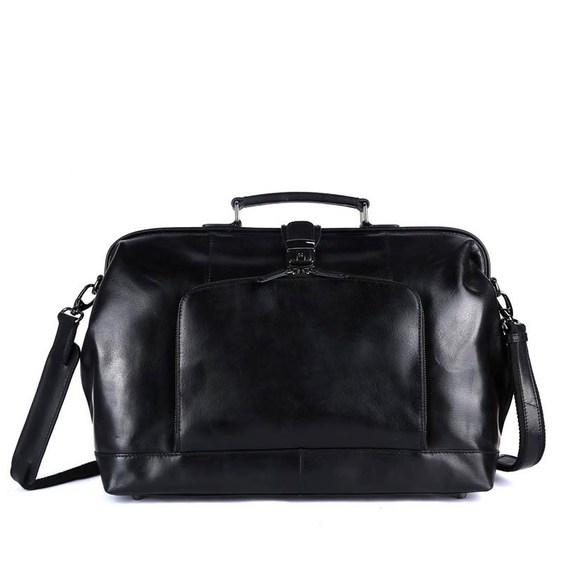 Genicci Donald Doctor Bag Black