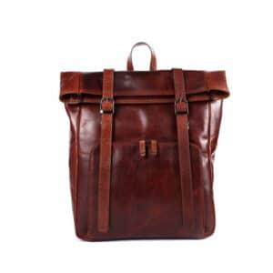 Genicci Jason Backpack Cognac-0
