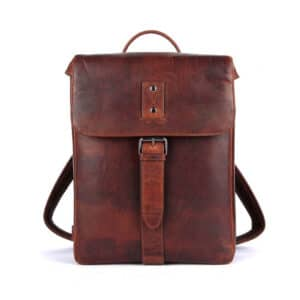 Genicci Lawrence Backpack Cognac-0