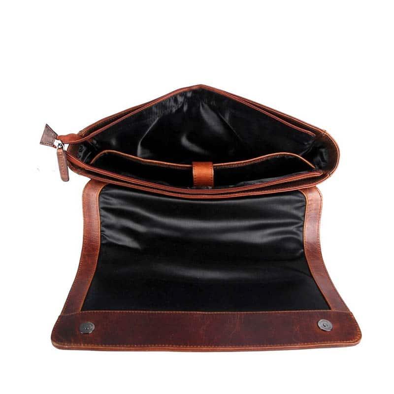 Genicci Peter Messengerbag Cognac-184400