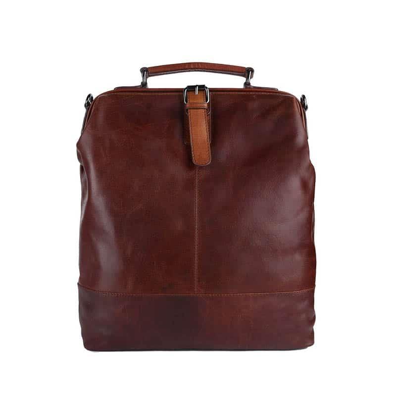 Genicci Rene Backpack Cognac-0