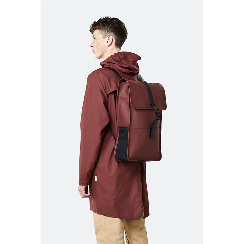 RAINS Backpack Maroon-184098