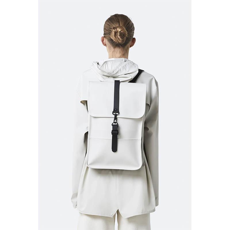 RAINS Backpack Mini Off White-184141