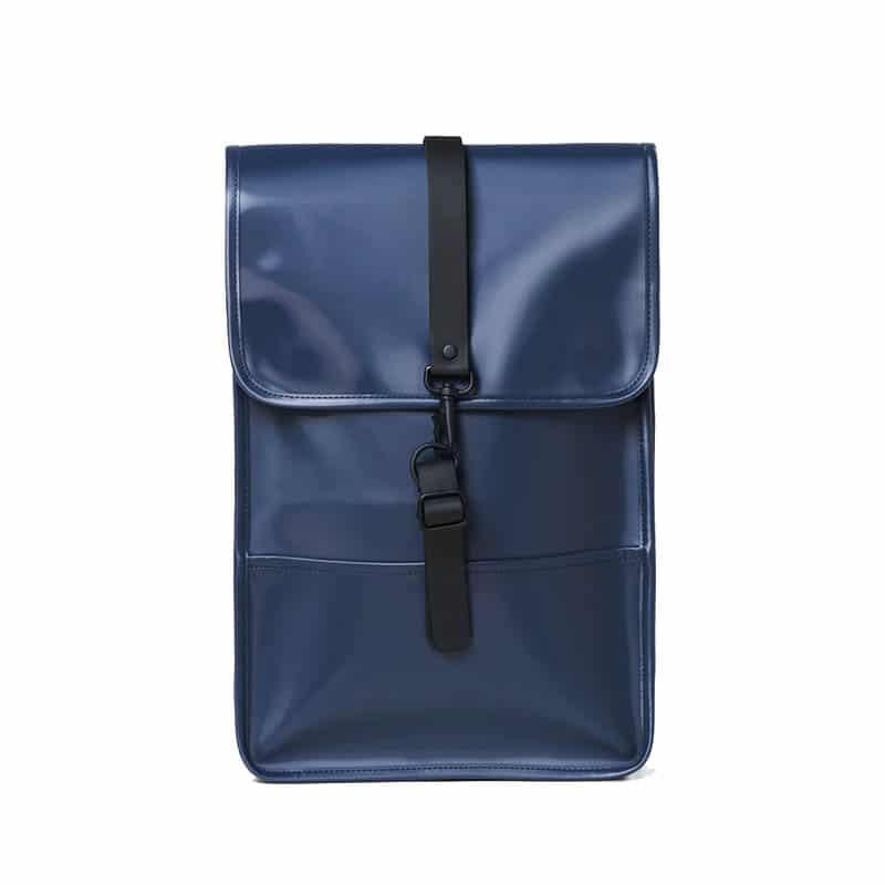 RAINS Backpack Mini Shiny Blue-0