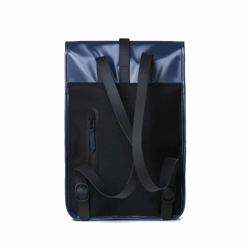 RAINS Backpack Mini Shiny Blue-184131