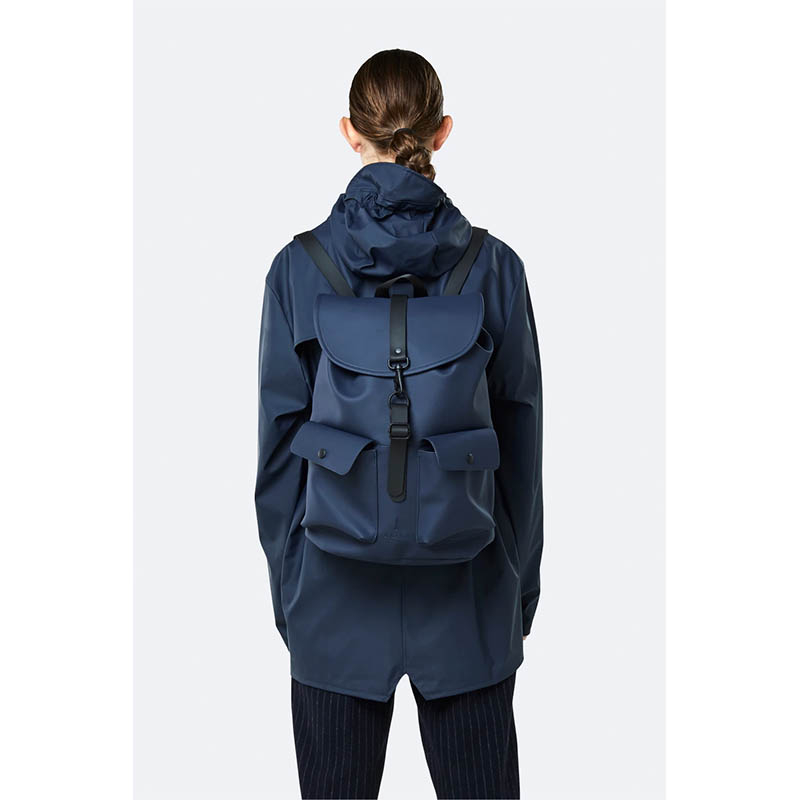 RAINS Camp Backpack Blue-184174
