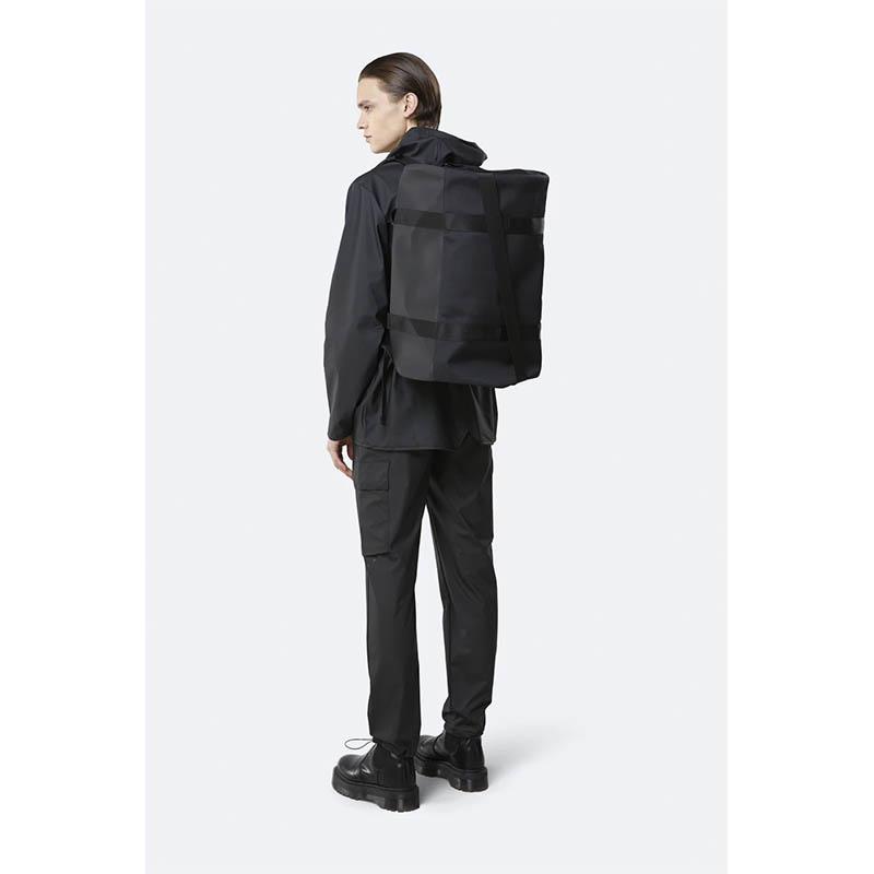 RAINS Duffel Bag Black-184201