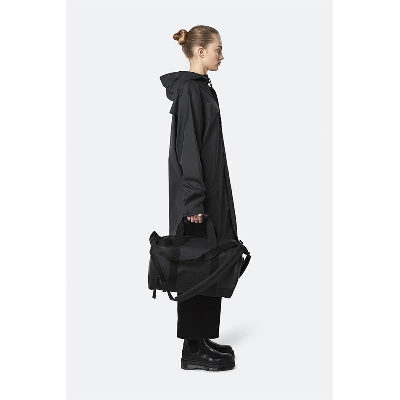 RAINS Duffel Bag Small Black-184191