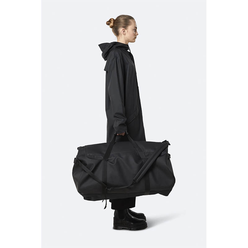 RAINS Duffel Bag X-Large Black-184205