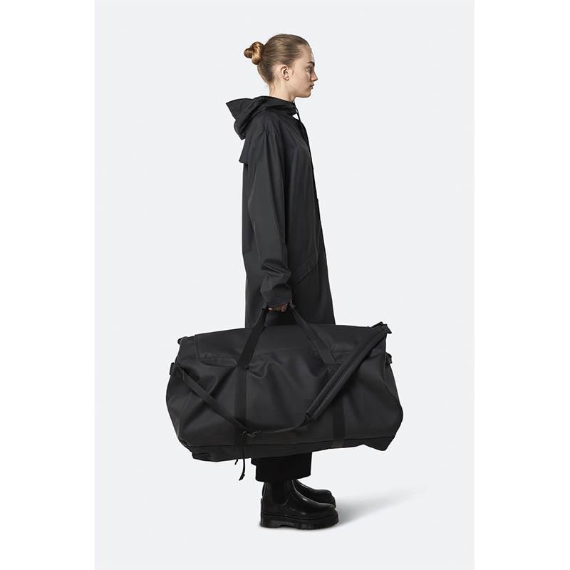RAINS Duffel Bag X-Large Black-184205