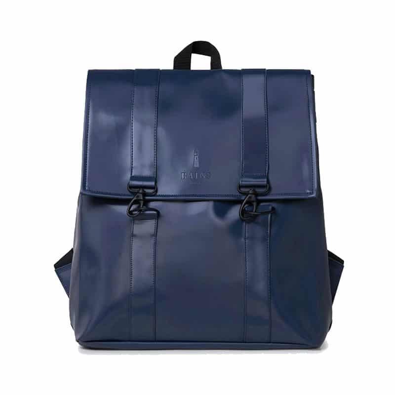 RAINS Msn Bag Shiny Blue-0
