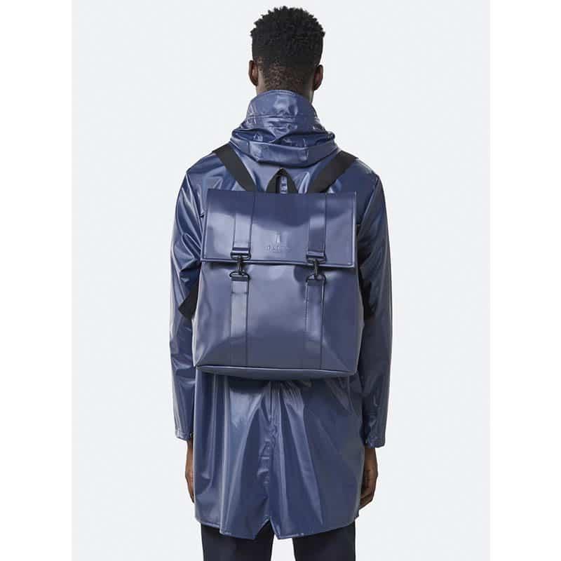 RAINS Msn Bag Shiny Blue-184086