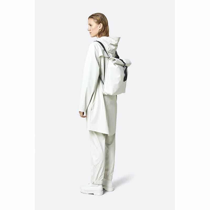RAINS Rolltop Mini Off White-184242