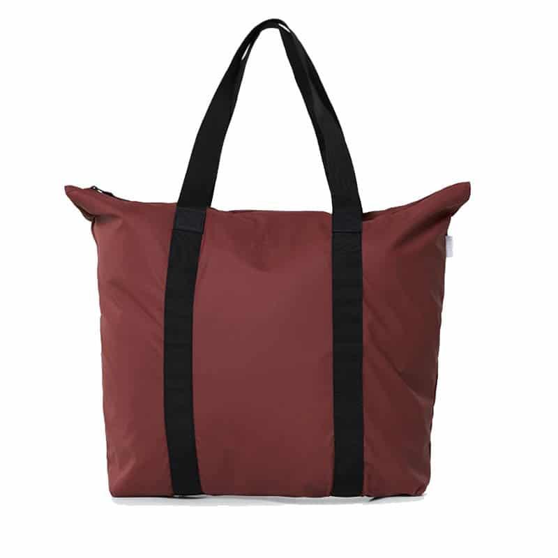 RAINS Tote Bag Maroon-0