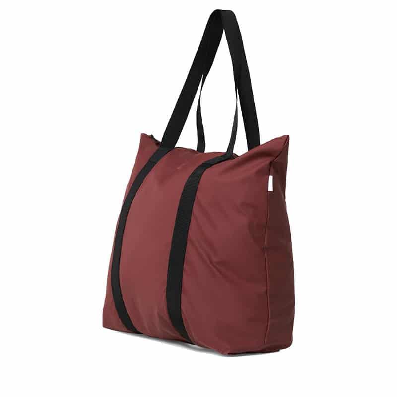 RAINS Tote Bag Maroon-184108