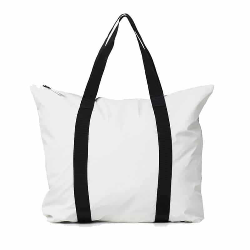 RAINS Tote Bag Off White-0