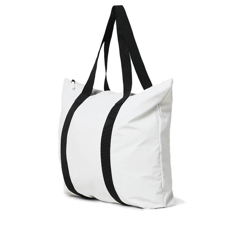 RAINS Tote Bag Off White-184110
