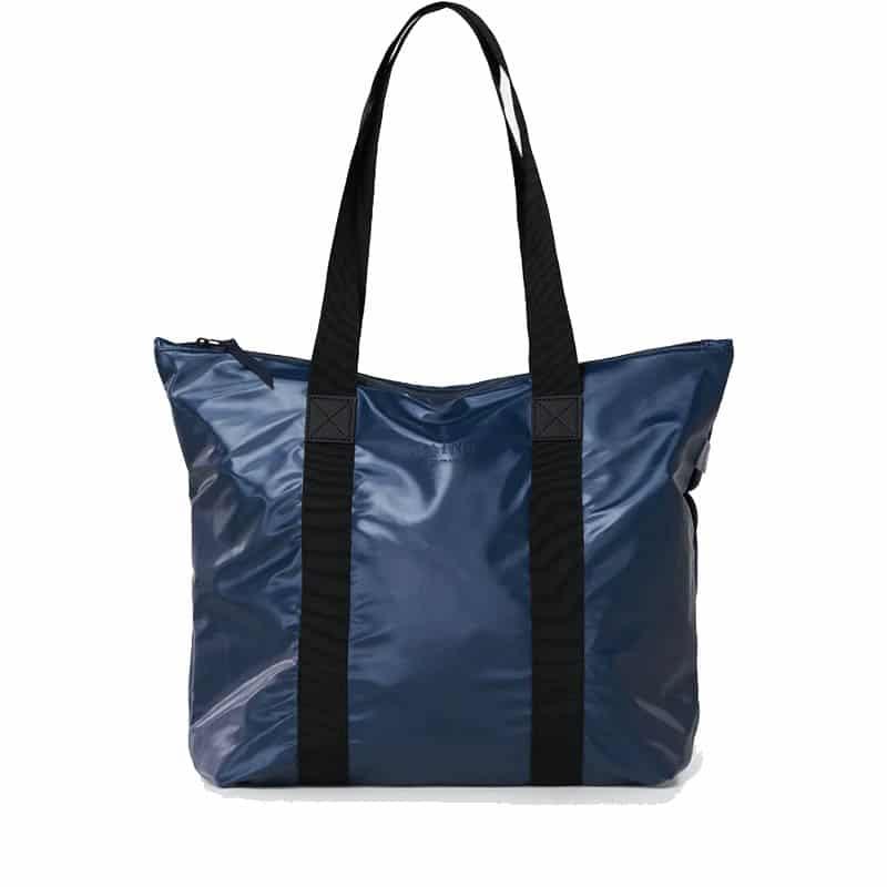 RAINS Tote Bag Rush Shiny Blue-0