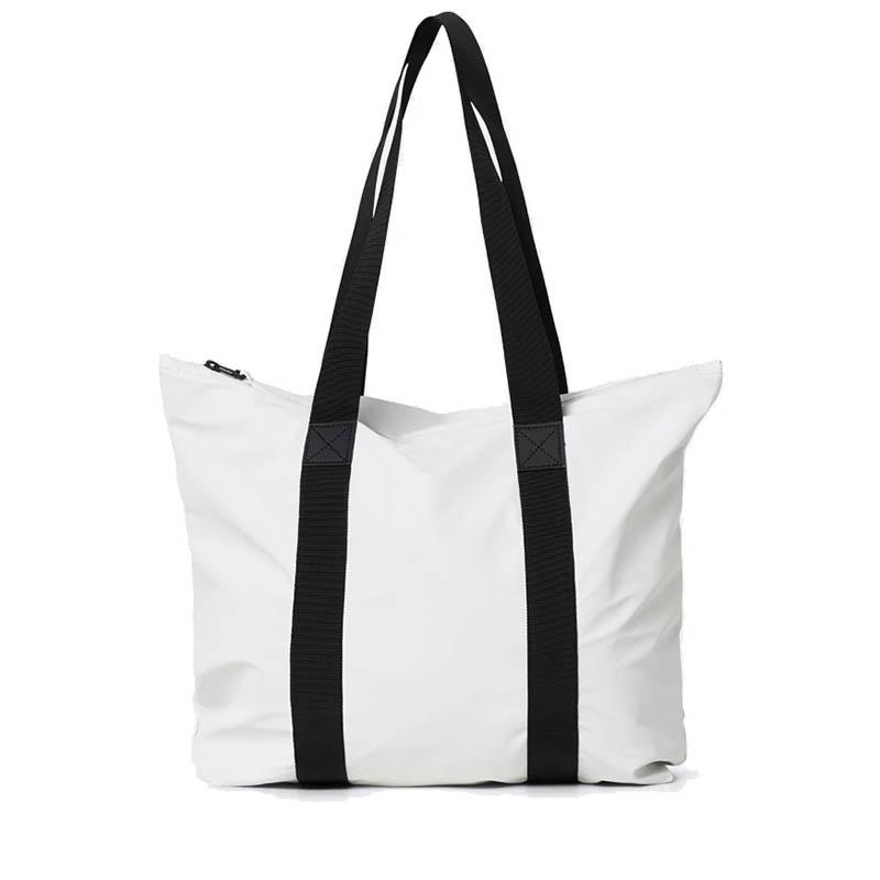 RAINS Tote Bag Rush Off White-0