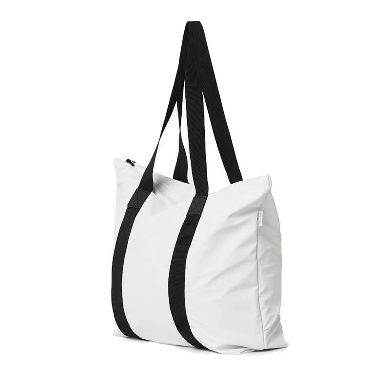 RAINS Tote Bag Rush Off White-184125